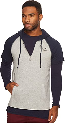 Scotch & Soda - Home Alone Double Layer Sporty Hoodie