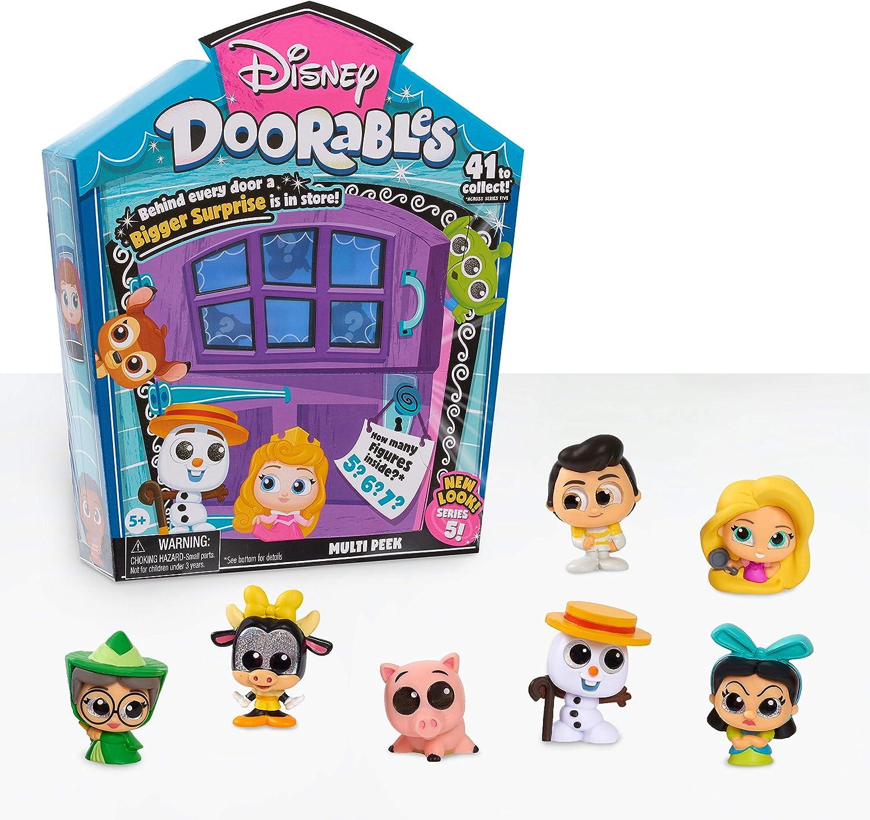 Disney Doorables Super sale Max 47% OFF Multi-Peek Pack Series 5 Mini Collectible Figu