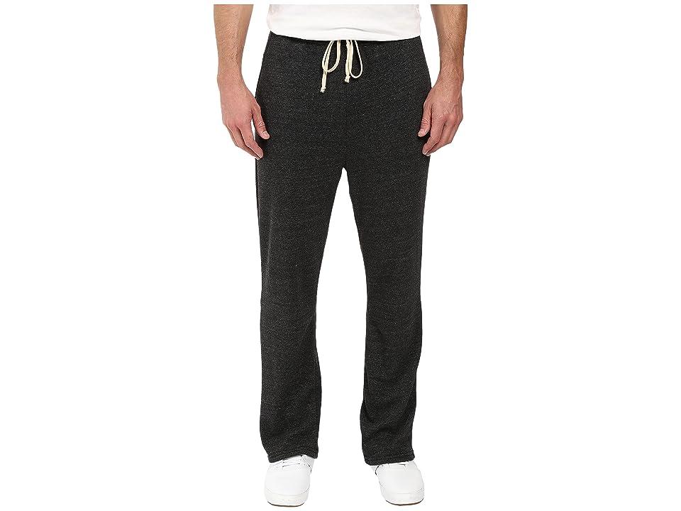 Alternative Eco Fleece The Hustle Open Bottom Sweatpants (Eco Black) Men