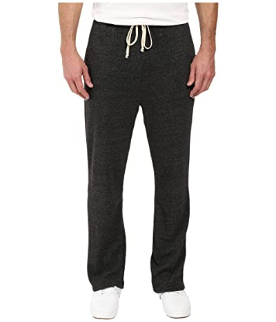 Alternative Eco Fleece The Hustle Open Bottom Sweatpants (Eco Black) Men
