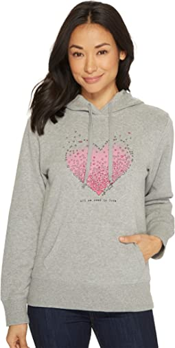 Tiny Hearts Go-To Hoodie