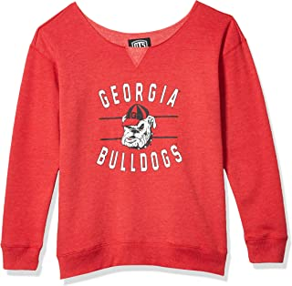 OTS NCAA womens Singleback Fleece Pullover