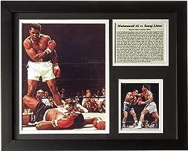 "Legends Never Die ""Muhammad Ali vs. Liston Framed Photo Collage, 11 x 14-Inch"