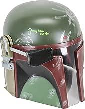 Star Wars Jeremy Bulloch Boba Fett Signed Deluxe Helmet Green Signature BAS