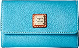 Dooney & Bourke - Pebble Flap Wallet