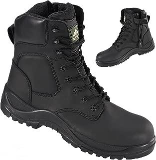 Melanite RF333 Waterproof Wide Fit Zip Up Non Metallic Safety Boots