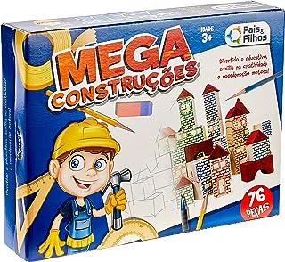 Mega Construções Pais & Filhos 76 Peças
