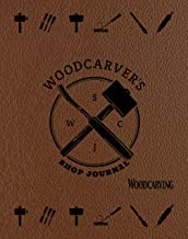 Woodcarver's Shop Journal (Quiet Fox Designs) Log & Organize Your Woodcarving Projects, Sketches, Patterns, Tools, & Material Lists; Includes Handy Quick-Reference Tables & Fill-In Table of Contents