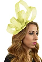 Hats By Cressida Elegant Katelin Feathers Ascot Derby Fascinator Hat - with Headband