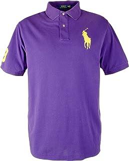 b1e65b1d078286 Polo Ralph Lauren Men's Big & Tall Classic Fit Big Pony Mesh Polo Shirt