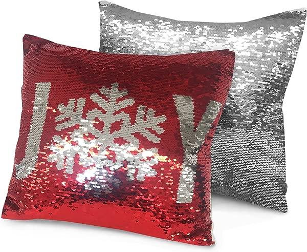 Idea Nuova Sequin Dec Pillow Joy