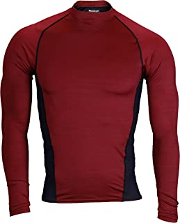 PlayDry Men's Long Sleeve Athletic Compression Shirt