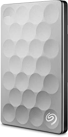 Seagate STEH1000200 Ultra Slim Metal Kasa 1000 GB, Platin