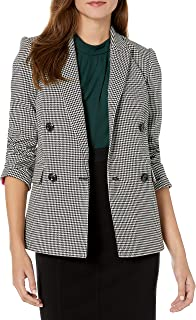 Vince Camuto Women's Houndstooth Double-Breasted Jacket