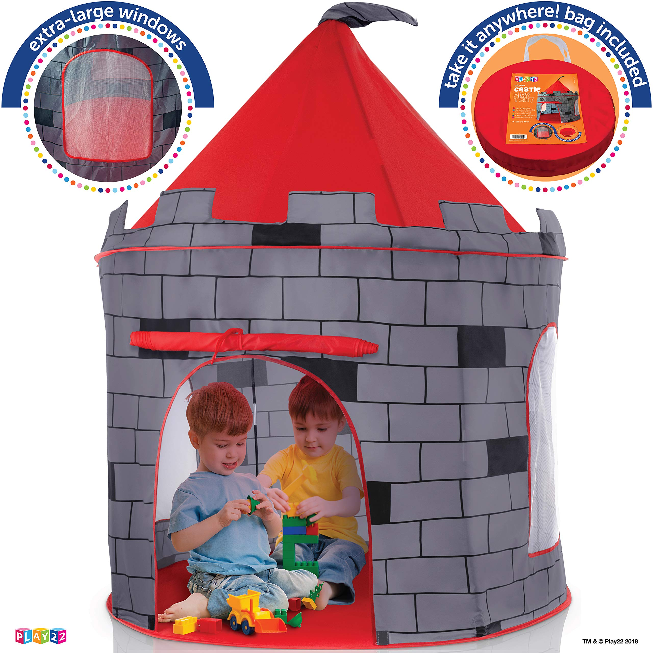 Kids Play Tent Knight Castle