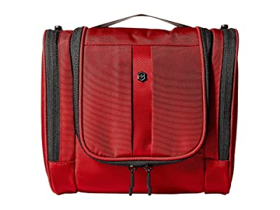 Victorinox Hanging Toiletry Kit (Red/Black Logo) Toiletries Case