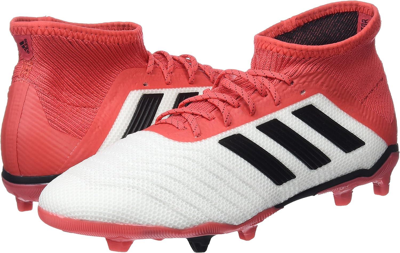 White adidas Predator Shoes 3.5 Little Kid Boys