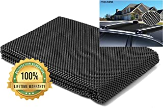 Protective Car Roof Mat for Any Car Roof Storage Cargo Bags with A Strong Grip and Extra Cushioning The Car Roof Pad Can Be Used On Your Car and SUV Or Truck