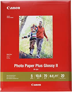 Canon 1432C003 Photo Paper Plus Glossy II 8.5