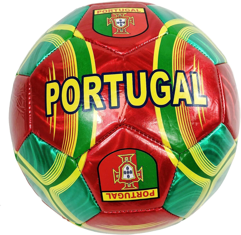 35792ce8a Soccer Ball Official Size 5 Aka(Football) World Cup Soccer Balls (5,  Portugal Soccer Ball) noudxw1390-Sporting goods