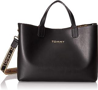 Tommy Hilfiger Iconic Tommy Satchel, Borse Donna, Taglia unica