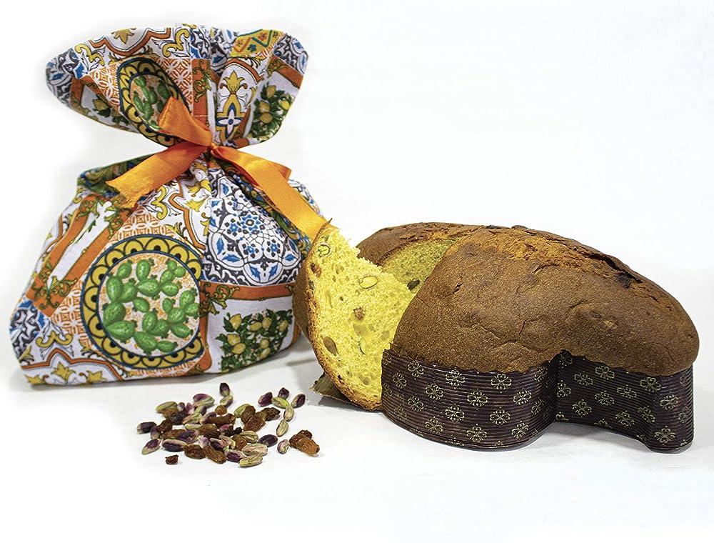 Antica sicilia,colomba artigianale siciliana, con pistacchio ,1kg
