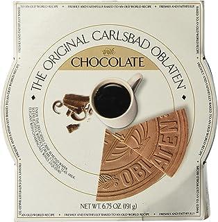 Crisp Stroopwafel Waffle Cookies [European Guilt-free Dessert] 6.75 Oz. 48 Slices, Chocolate