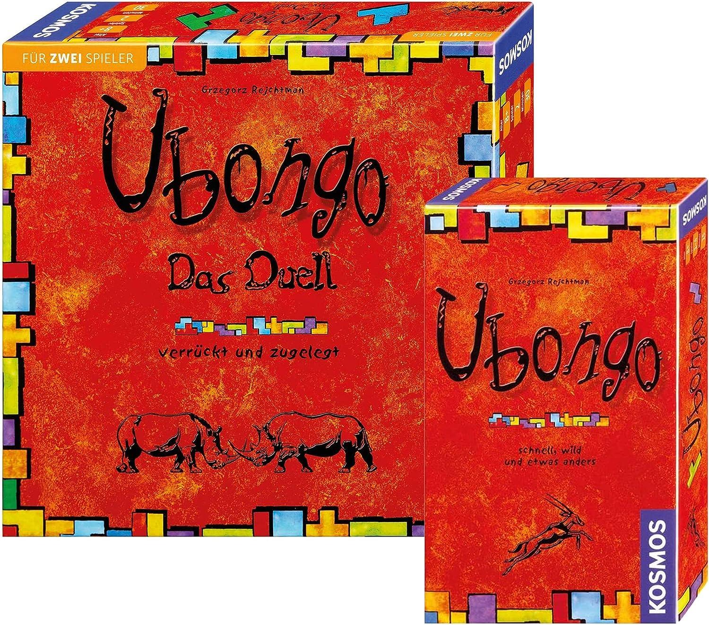 Kosmos 690182 Ubongo Das Duell + 699345 Ubongo - Juego de mesa