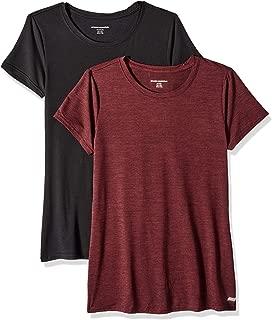 Women's 2-Pack Tech Stretch Short-Sleeve Crewneck T-Shirt