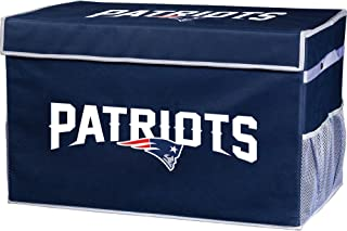 Franklin Sports NFL Folding Storage Footlocker Bins - Official NFL Team Storage Organizers - Collapsible Containers - Large