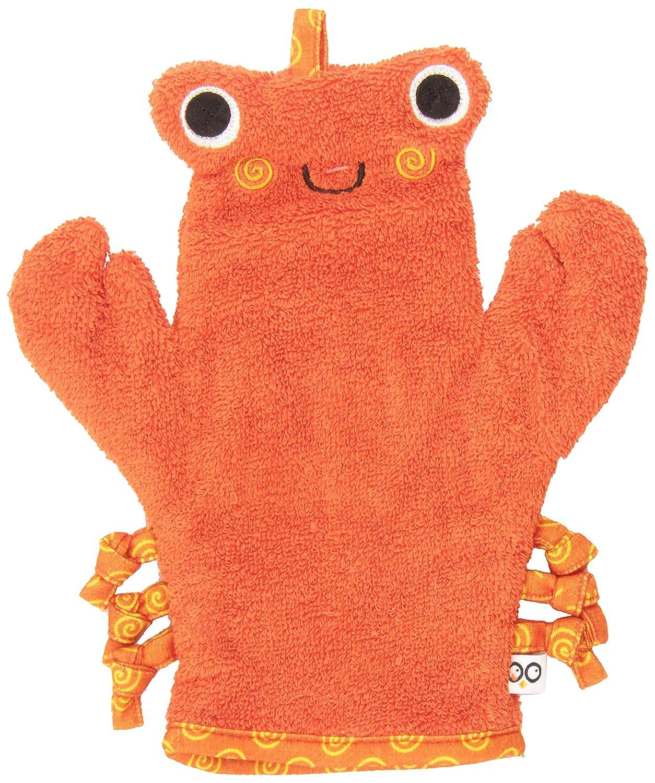 誕生日/お祝い ZOOCCHINI 定番の人気シリーズPOINT ポイント 入荷 Baby Bath Mitt - Crab Washclot Ultra-Soft Charlie The