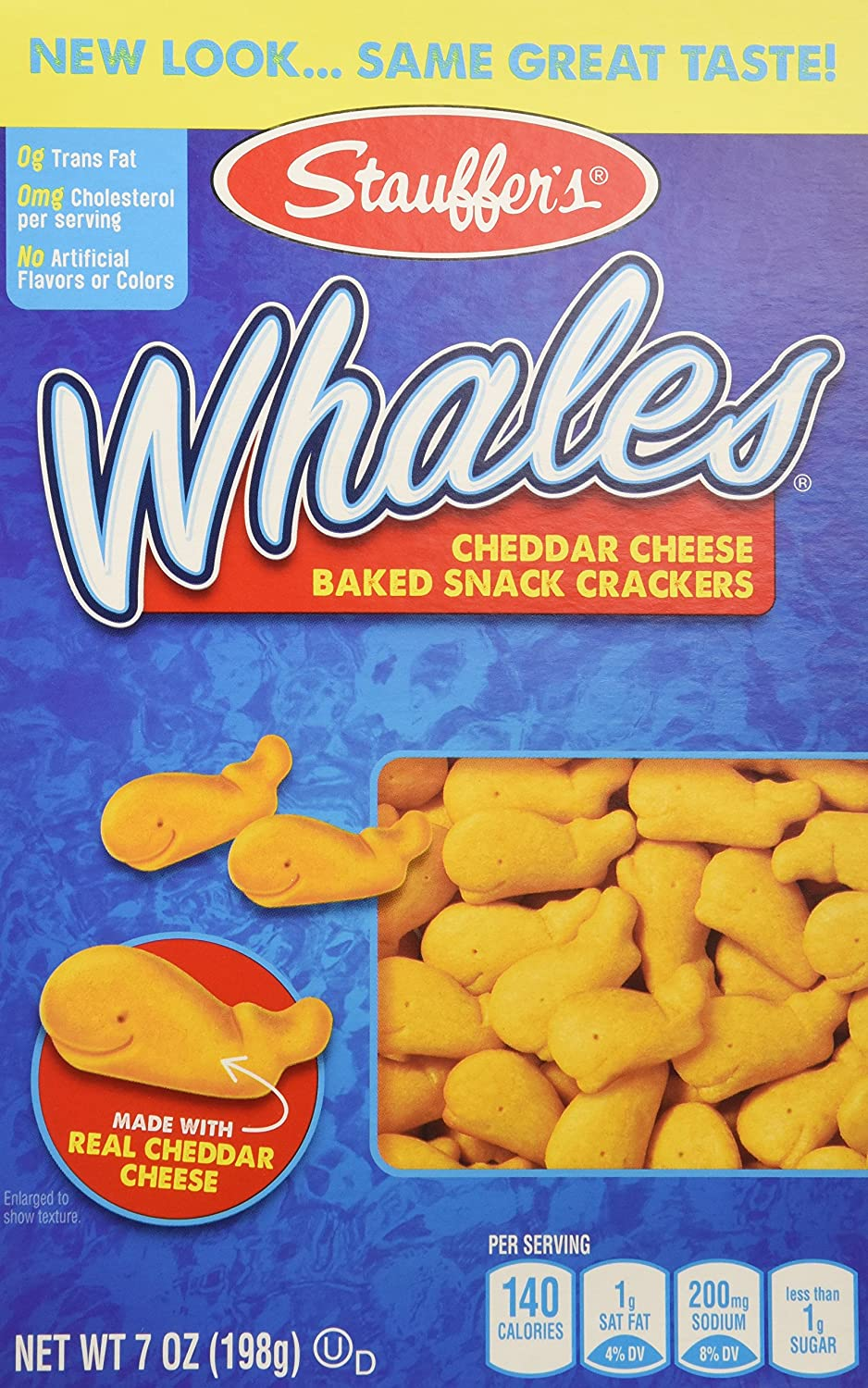 Stauffer's Max 42% OFF Whales Baked Snack Crackers 7oz pack 3 Max 83% OFF of