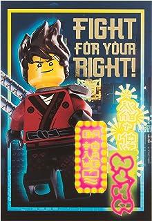 Amazonfr Carte Anniversaire Lego