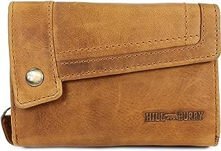 Hill Burry Leder Damen Portmonnaie Geldbörse 13092 Prime Quality schwarz NEU