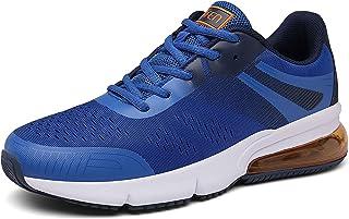 SOLLOMENSI Zapatillas de Deporte Hombres Running Zapatos para Correr Gimnasio Sneakers Deportivas Padel Transpirables Casu...
