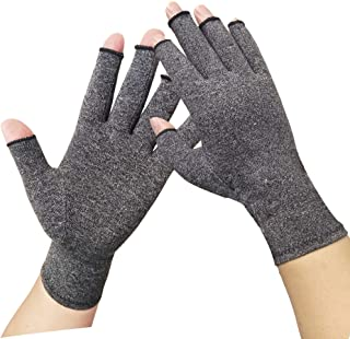 Arthritis Gloves -Compression Gloves for Arthritis for Women and Men - Gloves for Arthritic Hands,Carpal Tunnel Aches, Rheumatoid Pain and Computer Typing (1 Pair) (Medium)