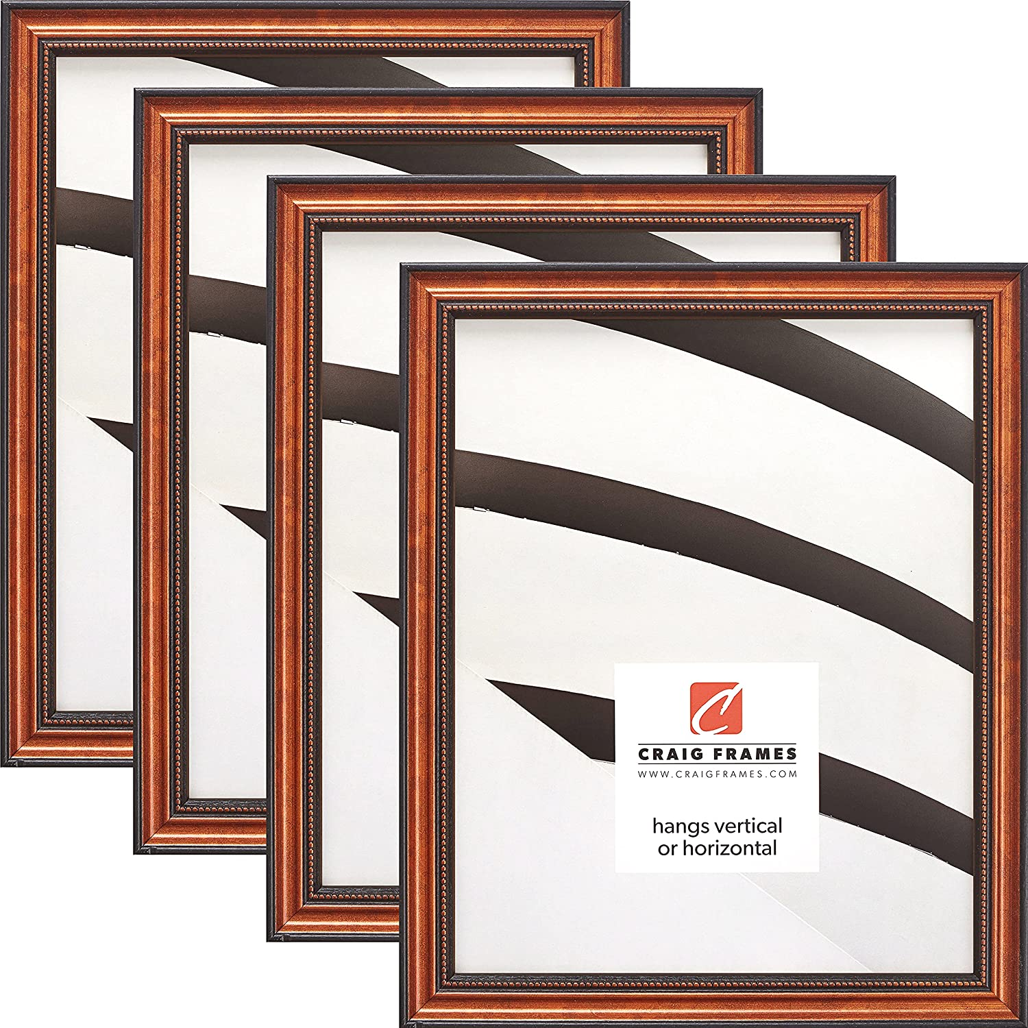 Craig Frames 314CU Ornate Copper Picture x S Max 40% OFF Frame Omaha Mall Inch 10 12