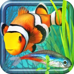 230 species of brilliantly-colored, realistic-moving 3D fish Crossbreed your fish for unlimited variations Customize up to 20 saltwater and freshwater aquariums with lots of decorative items and corals Zoom into your tanks Play with your fish to earn...