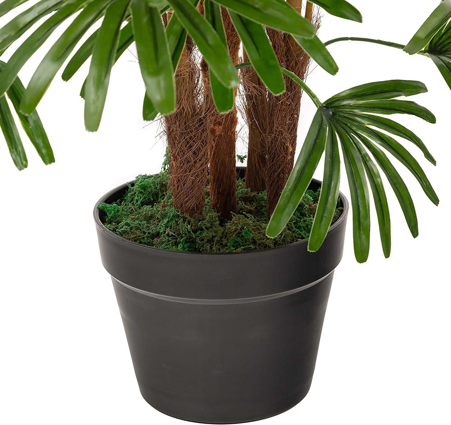 Closer2Nature Artificial 2ft Lady Palm Green