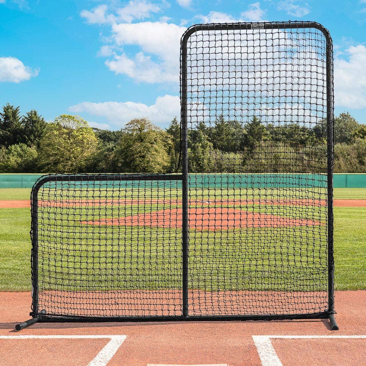 Amazon Com Fortress Regulation Baseball L Screen 7ft X 7ft Premium Grade Pitcher Protector Screen Baseball Net L Screen Baseball Practice Equipment Baseball Pitching Net Sports Outdoors