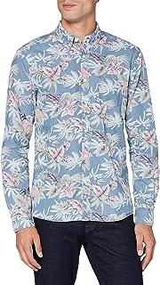 HKT by Hackett Hkt Cham Palm Tree Camisa para Hombre