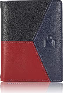 Le Craf Multicolour Genuine Leather Stylish Mens and Boys Wallet