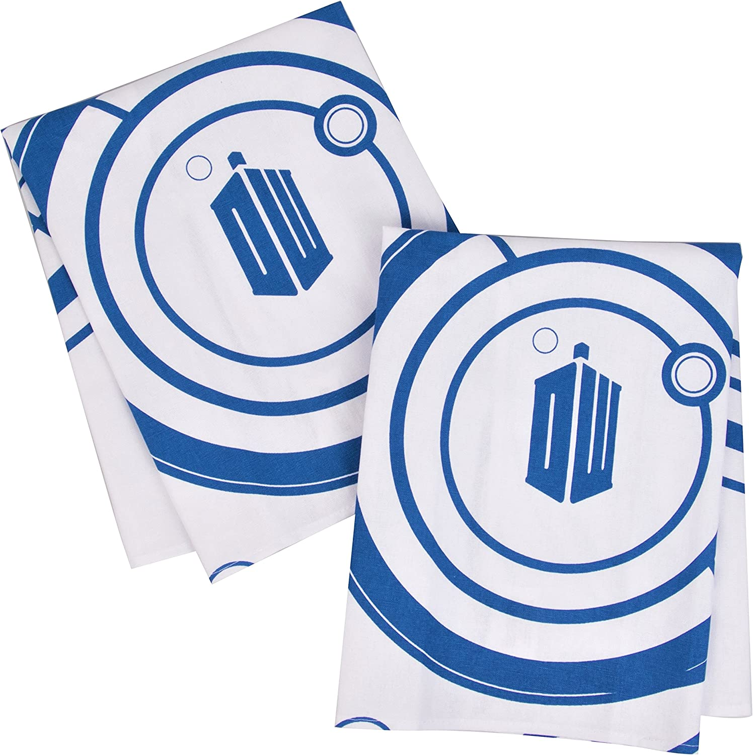 Doctor Who online Superior shopping Kitchen Dish Towels Set of Oven Door 2 - Perfect Han