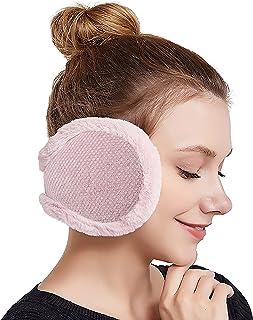 Winter Ear Warmers Unisex Adjustable Outdoor Earmuffs 2PCS PODALOA Ear Muffs For Women Men