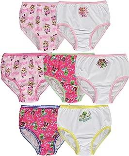 Muppet Babies Girls 7-Pack Underwear Briefs Toddler Little Kid Infant Baby Piggy Kermit Animal Gonzo