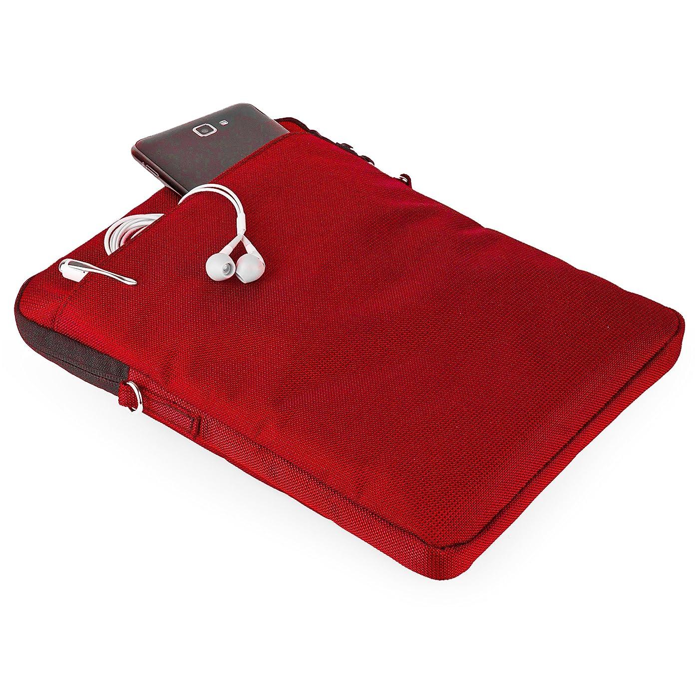 VanGoddy Hydei Shoulder Bag Sleeve for Asus Chromebook Flip C100 10.1 inch Laptops (Red)