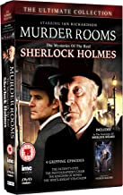 Murder Rooms - The Mysteries of the Real Sherlock Holmes - The Patient's Eyes, The Photographer's Chair, The Kingdom of Bones & The White Knight Stratagem - Starring Ian Richardson + In the Footsteps of Sherlock Holmes - Patrick Macnee