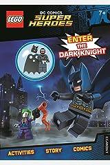 LEGO® DC Comics Super Heroes: Enter the Dark Knight (Activity Book with Batman minifigure) Paperback