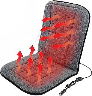 Beheizte Sitzauflage, beheizter Sitzbezug, Sitzheizung für Auto, PKW, LKW, Wohnmobil, Autositz für die 12V Dose