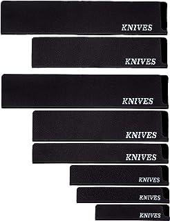 Knives Fourreau, écrin, étui, protège lame, protège couteau pour couteau de cuisine. Protection de couteau à doublure en f...
